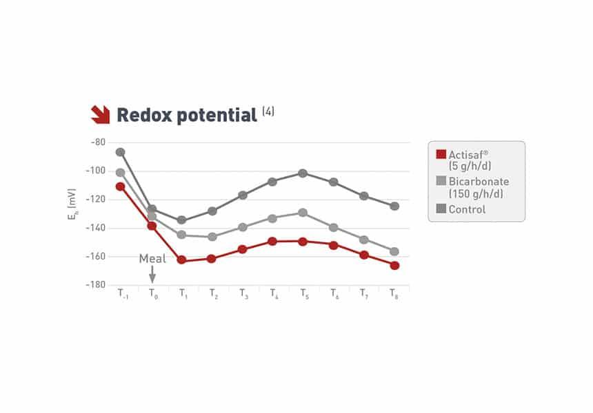 potencial redox vacas lecheras