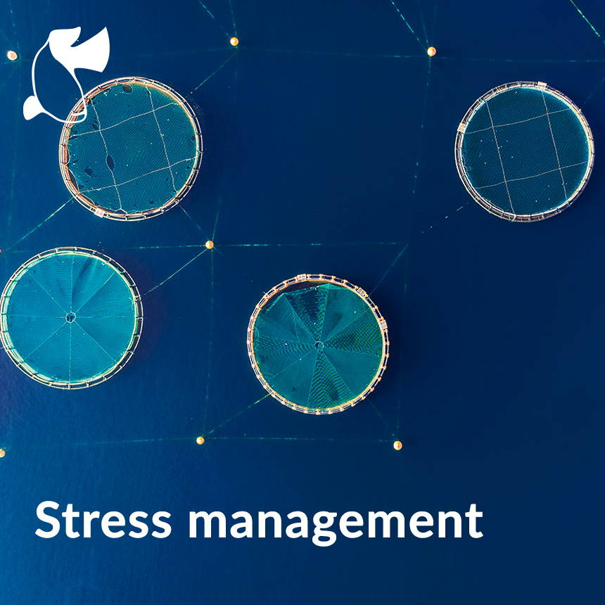 Stress management aquaculture