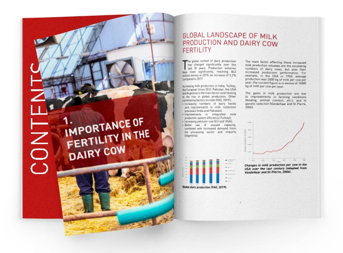 Dairy fertility book